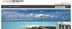 Luxury Retreats Uk Website